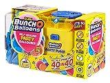 Zuru 56174 Bunch O Balloons Party - Set di 40 Palloncini in 40 Secondi, con Pompa elettrica, 16 Palloncini, Tubo Flessibile e 4 adattatori, 3 Colori Assortiti