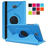 WiTa-Store Schutzhülle für Samsung Galaxy Tab A SM-T580 SM-T585 10.1 Zoll Smart Slim Case Book Cover Stand Flip (Hellblau) Neu