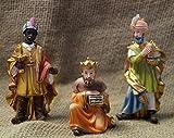 Hlg. Drei Könige 3tlg, für 10cm Figuren