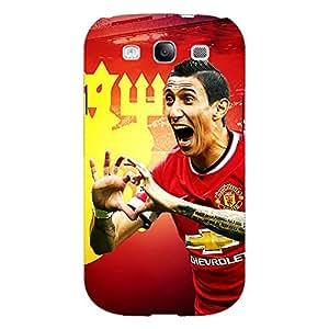 Jugaaduu Manchester United Di Maria Back Cover Case For Samsung Galaxy S3 Neo