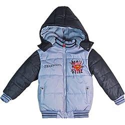 Infantil con forma de Superman chaqueta deportiva con capucha acolchada chaqueta de hípica para niños