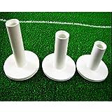 le caoutchouc tees de golf, de couleur blanche, 3 pc emballés (75 mm, 65 mm et 54 mm).Rubber Golf Tees, White Color, 3 PCS Packed(75 mm, 65 mm and 54 mm)...