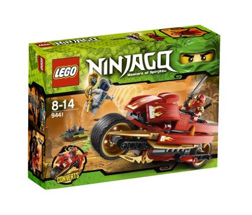 LEGO Ninjago Playthème - 9441 - Jeu de Construction - La Moto de Kai
