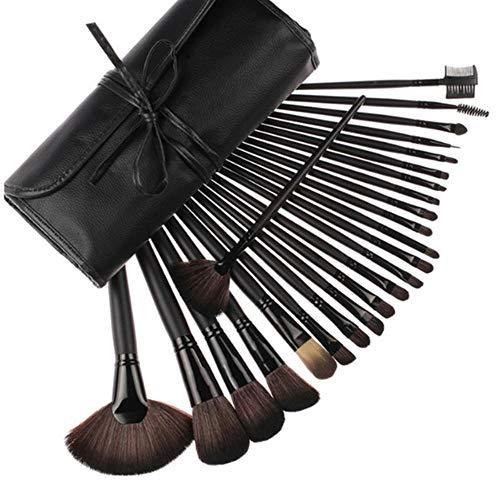 rüngliche Farbe Der Rosshaar-Make-Up-Bürste Holzgriff Rosshaar-Set Pinsel-Make-Up-Werkzeug B ()