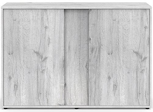 Mueble Acuario Expert 120roble blanco Aquatlantis
