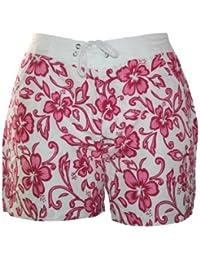 Damen Badeshorts viele VERSCHIEDENE FARBEN. Hot Pants, Hipster mit Blumenmuster