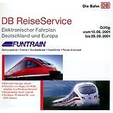DB ReiseService Sommer 2001 ( Kursbuch). CD- ROM für Windows und DOS