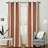 Deco Essential Curtain Dot Box Burn Rose...