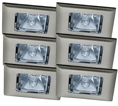 Paulmann 99509 Premium EBL Set Quadro 6x35W 2x105VA 230/12V GU5,3 68mm Eisen geb/Alu Zink von Paulmann Leuchten auf Lampenhans.de