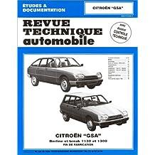Revue Technique Automobile, N° 399.3 : Citroën GSA 1130 ET 1300, fin de fabrication