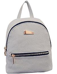 Kafe Damen Taschen Loveso Mädchen Frauen Einfache Stil Künstliche Leder Mini Rucksack Handtasche
