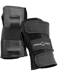 Pro Tec Pro Tec - Protecciones de skateboarding, tamaño M, color negro