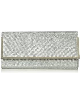 ALDO HYNEMAN Damen Clutches 5x15x28 cm (B x H x T), Silber (Silver/81)