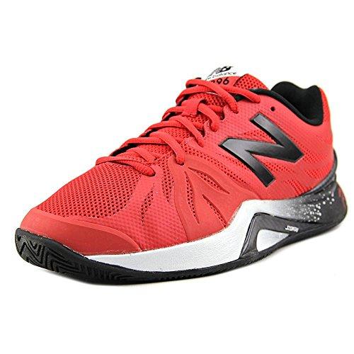 New Balance WC1296 Uomo US 7 Rosso Larga Scarpa da (New Balance Abbigliamento Da Tennis)
