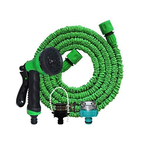 SS Faucet Tubo da Giardino Tubo da Giardino Estensibile 25ft, Tipi di Ugelli Multipli, Tubo Flessibile Espandibile, Versatile, Antigelo, Irrigazione, Set da Giardino (Size : 25FT)