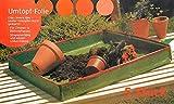 GRASEKAMP Qualität seit 1972 5 Stück Umtopffolie Umtopfhilfe Allzweck Pflanzunterlage Arbeitsunterlage Universal