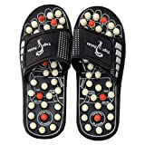 Wefuse Acupressure Therapy Sandals/Foot Massager Slipper/Relaxer/Rotating for Men & Women (Free Size)