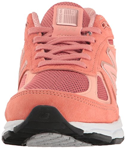 New Balance  W990v4, Damen Laufschuhe grau grau / pink Sunrise/Rose Gold