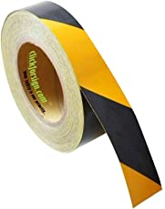 clickforsign Yellow/Black Hazard Safety Reflective Tape