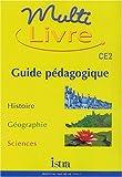 Image de Multi livre CE2. : Guide pédagogique