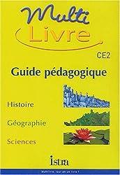 Multi livre CE2. : Guide pédagogique
