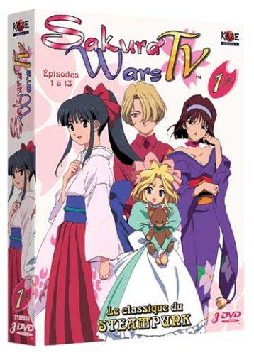 Sakura Wars TV Coffret 1 [Édition Collector]
