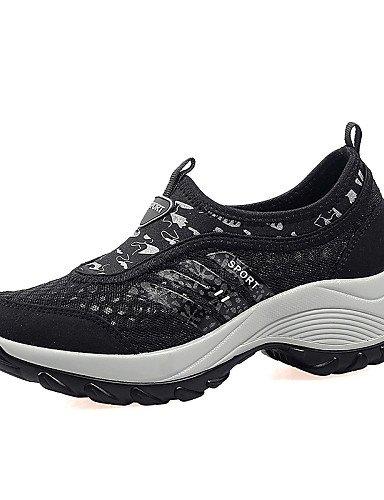 ZQ Scarpe Donna-Sneakers alla moda / Mocassini / Senza lacci-Tempo libero / Formale / Casual-Comoda-Basso-Tulle / Finta pelle-Nero / Blu / , gray-us9 / eu40 / uk7 / cn41 , gray-us9 / eu40 / uk7 / cn41 gray-us6.5-7 / eu37 / uk4.5-5 / cn37