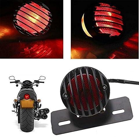 olayer lumière de frein de queue de moto pour Harley