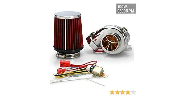 Elektrischer Turbolader E Supercharger Set 100w 9800 U Min 125 Cc 500cc Auto