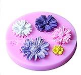 WLIFE Rosa Blumen silikonform