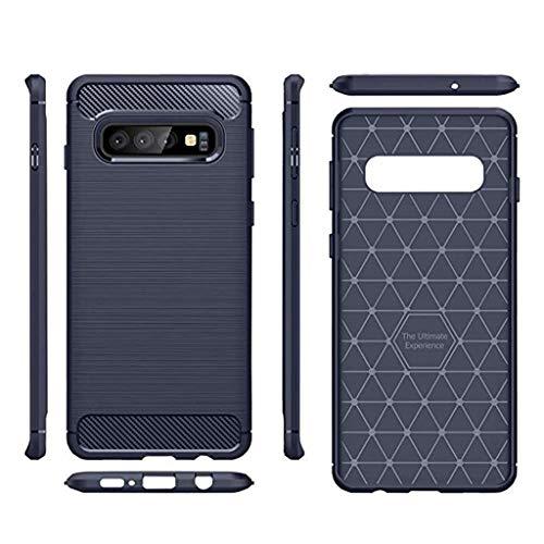 Das beste Zubehör für Samsung Galaxy S10 Plus !!! Beisoug 6,4 Zoll Silikon Hybrid Handyhülle Weiche TPU Abdeckung (5. Generation Ipod-wasser-fall)
