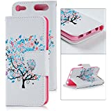 iPod Touch 6th Generation Case-Mavis's Diary Colored Drawing PU Leather Magnetic Flip Protective Cover Shell Wallet Case Folio Pouch Holster For Apple iPod Touch 6th Generation(Pattern 9)