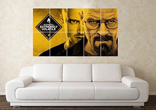 Breaking Bad - Poster da parete con immagine artistica