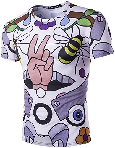 whatlees-unisex-digital-print-t-shirts-mit-bee-hand-blume-cartoon-3d-muster