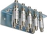 PYKJYN Set-Angebot 10-teilig: 9x Überspannungsschutz mit Erdungsblock 9-fach; kaskadierbar; wasserdicht; selbstheilend; für Sat, Kabel TV, DVB T und UKW; Geeignet für HD- und Digitalempfang