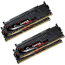 G.Skill 16GB DDR3-2400 16GB DDR3 2400MHz módulo de - Memoria (DDR3, PC/server, 240-pin DIMM, 4 x 4 GB, Dual)