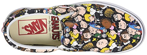 Vans Peanuts Classic Slip-On, Scarpe Running Unisex – Adulto Multicolore (The Gang/black Peanuts)