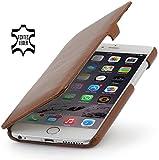 StilGut Book Type Case mit Clip, Hülle aus Leder für Apple iPhone 6 Plus (5.5