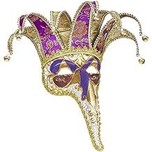 b687fc5c1 Jolly máscara con nariz larga Lusso, varios colores, ...