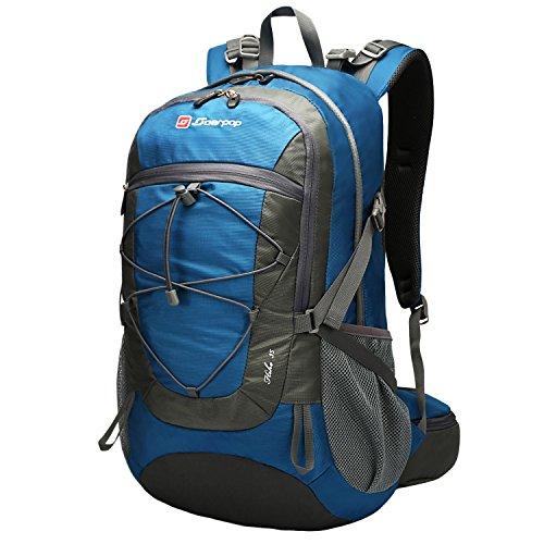 Soarpop zaino dello zaino dello zaino dello zaino dello zaino di ultralight per il campeggio, l'arrampicata, il ciclismo (35l blu)