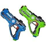 Die besten Laser Tag - WISHTIME Laser Tag Battle Pistole Spielzeug ZM17037 Multiplayer Bewertungen