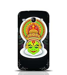 Stylebabay Kerala Traditional Painting Black Samsung Galaxy Core i8262
