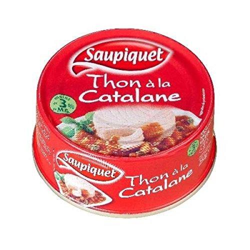 Saupiquet thon sauce catalane 1/3 252g - ( Prix Unitaire ) - Envoi Rapide Et Soignée