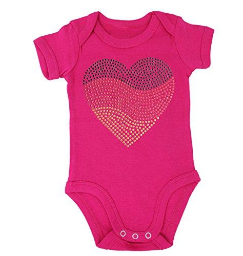 Baby Body EM Deutschland mit Strassnieten - Trickot Baby Deutschlandherz