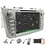 Doppel DIN IN Dash GPS Autoradio für Toyota Camry 2007 2008 2009 2010 2011 20,3 cm Digitaler kapazitiver Touchscreen Auto DVD CD Video Player Bluetooth SD USB Radio AM FM RDS Sub Aux Screen Link