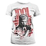 Billy Idol - Rebel Yell '83 Official Women T-Shirt