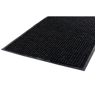 anytools.de Dirt Trapper Mat Black Ribbed with Trim, 60 x 90 cm