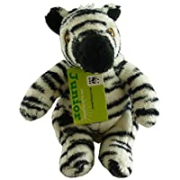 "WWF Junior Jungle Collection - 6"" Zebra Soft Toy - Suitable From Birth"