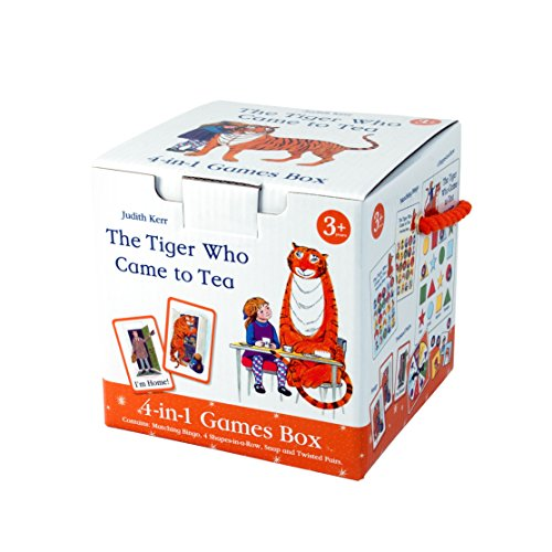 Paul Lamond 6685 The Tiger Who Came to Tea 4-in-1 Games Cube
