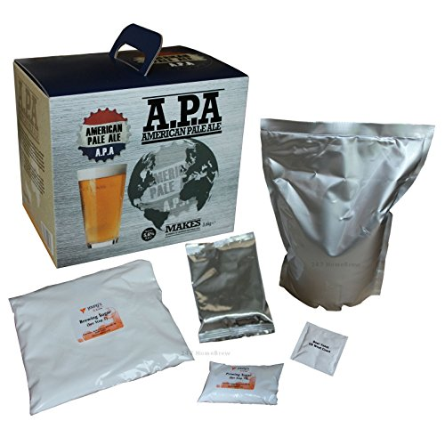 American PALE ALE - 23 Liter Bier zum selber Brauen - Bier Kit (Kit Bier)